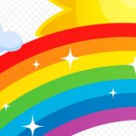 радуга, картинка радуга для дошкольников