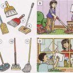 картинка уборка в комнате