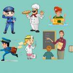 Интегрированное занятие в старшей группе: «В мире профессий»