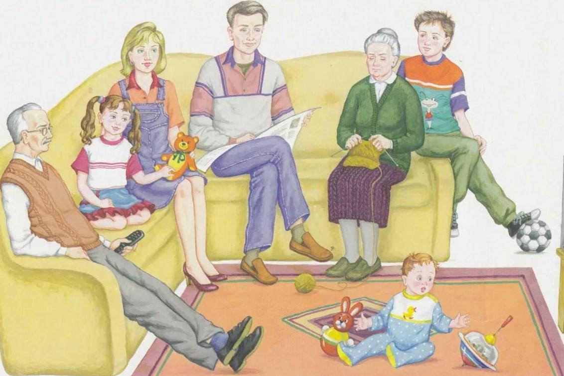 Картинки к занятию по теме моя семья