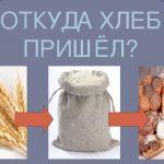 откуда хлеб на столе