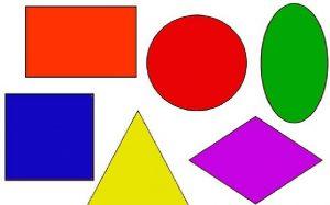 геометрические фигуры старшая группа