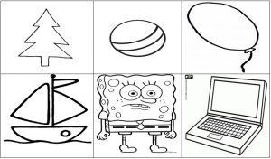 мнемокартинка, мнемотехника, мнемокартинка геометрические фигуры
