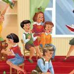 занятие в средней группе, мой любимый детский сад