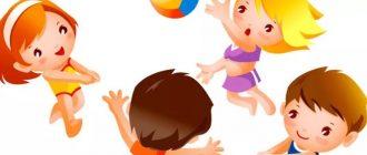 спортивное развлечение в младшей группе