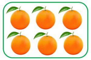 6 аппельсинов