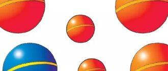 рисование мячи в младшей